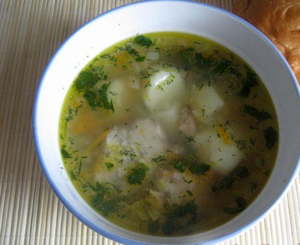 Суп пюре из рыбных консервов