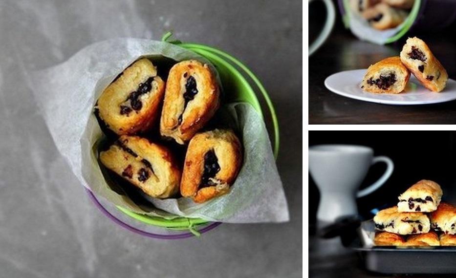 шоколадные булочки за 30 минут фото рецепт