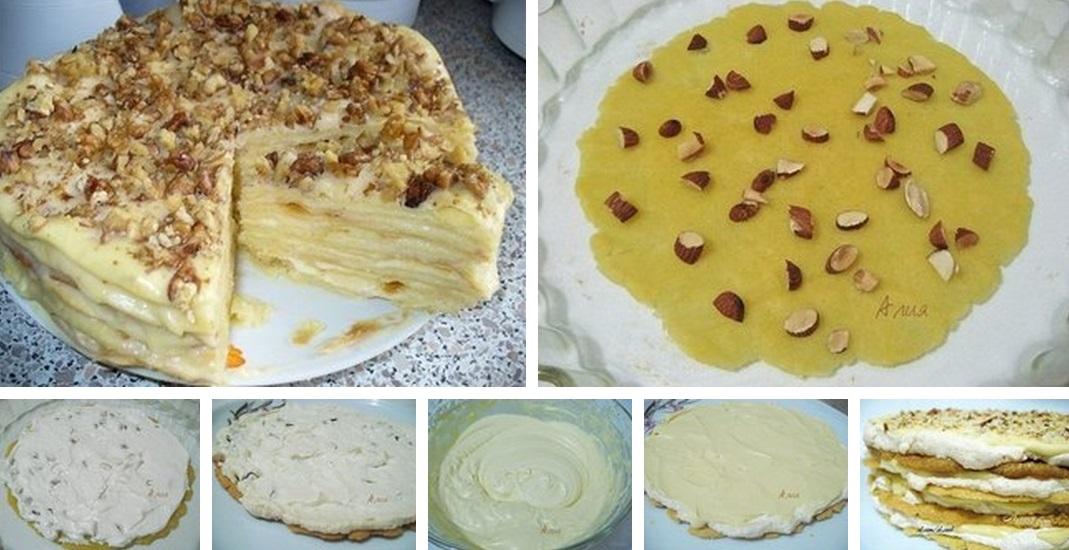 Коржи из желтков для торта рецепт