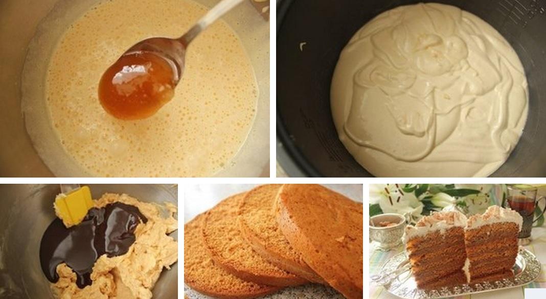 Рецепт пышного медовика рецепт с фото пошагово