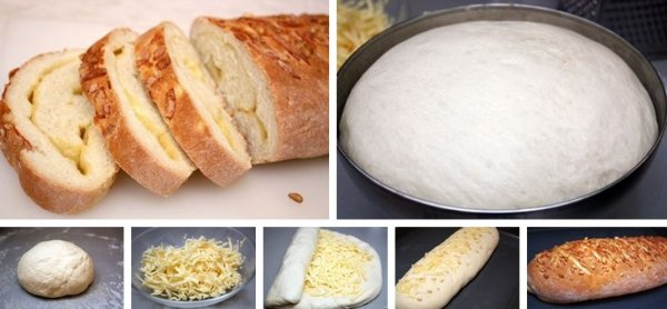 Сырный хлеб