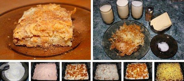 Яблочный пирог (без яиц)