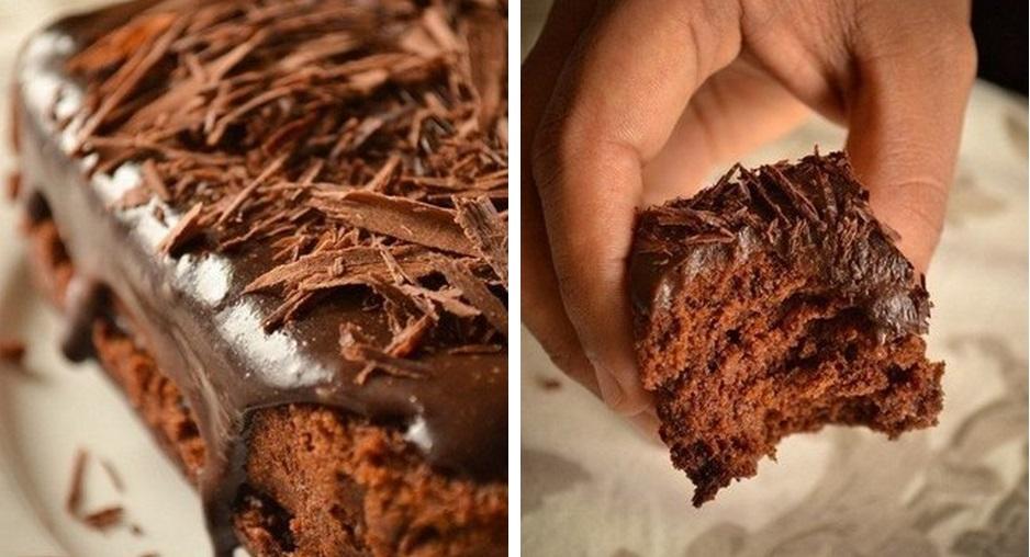 влажный шоколадный торт без яиц рецепт